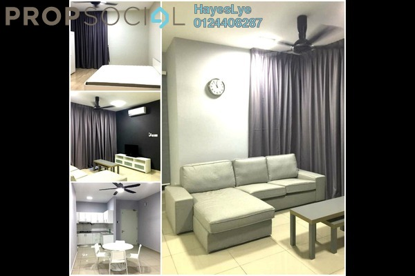 For Rent Condominium at Parkhill Residence, Bukit Jalil Freehold Semi Furnished 3R/2B 1.7k