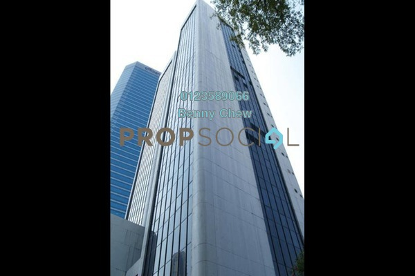 For Rent Office at Wisma MCA, KLCC Freehold Semi Furnished 0R/0B 9k