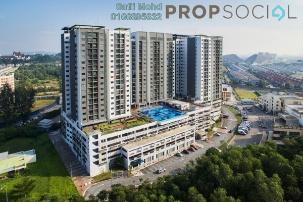 For Sale Serviced Residence at Residensi Alami, Shah Alam Leasehold Unfurnished 3R/2B 473k