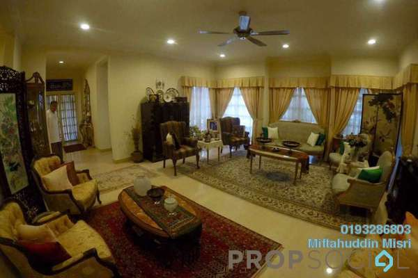 For Sale Bungalow at Precinct 14, Putrajaya Freehold Semi Furnished 6R/5B 2.3m