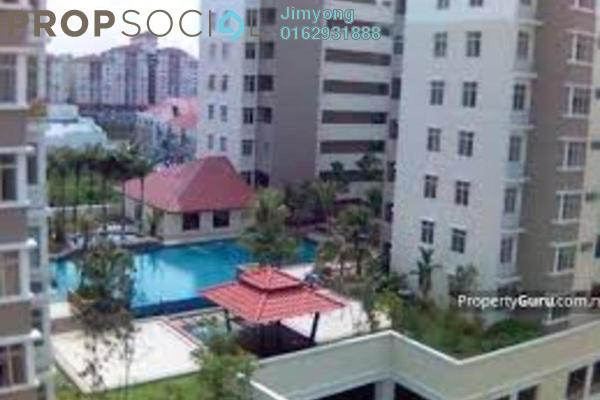 For Sale Condominium at Fortune Avenue, Kepong Freehold Unfurnished 4R/3B 850k