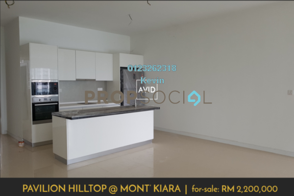 For Sale Condominium at Pavilion Hilltop, Mont Kiara Leasehold Semi Furnished 4R/5B 2.2m