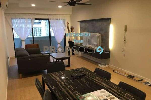 For Rent Condominium at Angkasa Impian 2, Bukit Ceylon Freehold Fully Furnished 2R/1B 4k