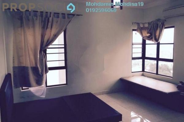 For Rent Apartment at Villamas Apartment, Bandar Puchong Jaya Freehold Fully Furnished 3R/2B 1.4k