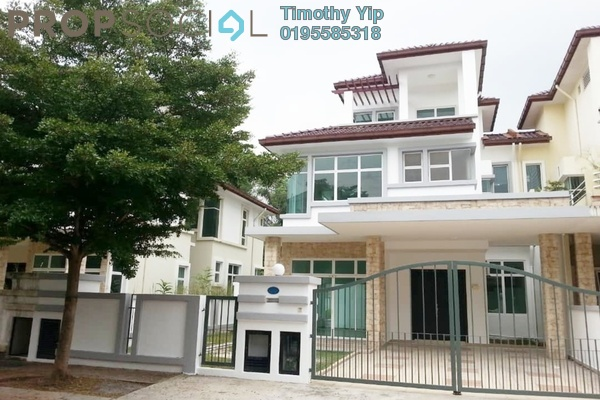 For Sale Semi-Detached at Zen Park, Cheras Freehold Fully Furnished 6R/6B 1.73m