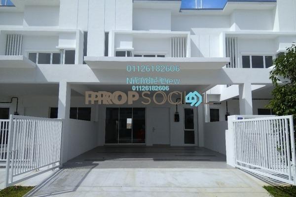 For Sale Superlink at Suriaman 3, Bandar Sri Sendayan Freehold Unfurnished 4R/4B 599k