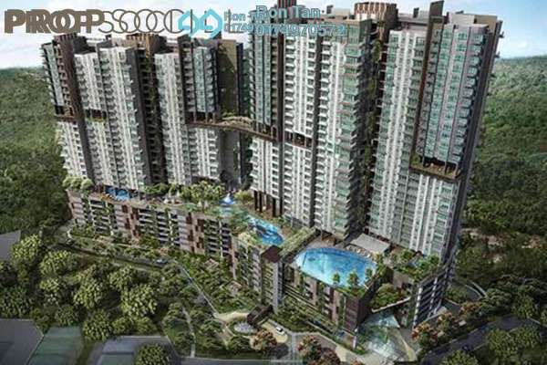 For Sale Condominium at Setia Sky Vista, Relau Freehold Semi Furnished 3R/2B 680k