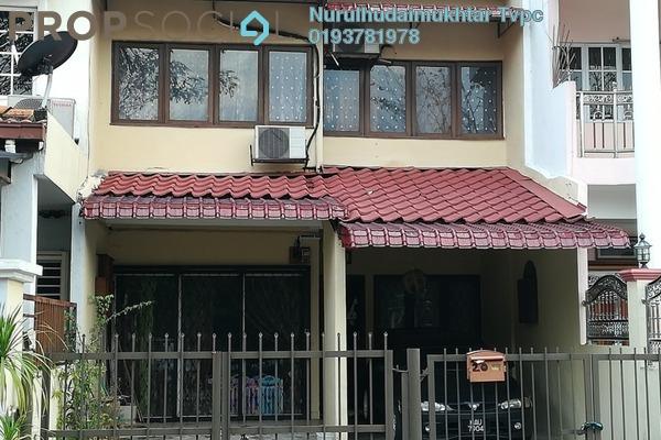 For Sale Terrace at Taman Cempaka, Pandan Indah Leasehold Semi Furnished 3R/3B 680k