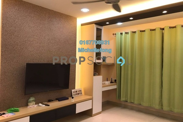 For Sale Condominium at Pandan Residence 1, Johor Bahru Leasehold Fully Furnished 2R/2B 410k