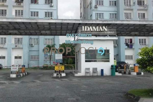 For Sale Apartment at Idaman Senibong, Bandar Baru Permas Jaya Leasehold Semi Furnished 3R/2B 230k