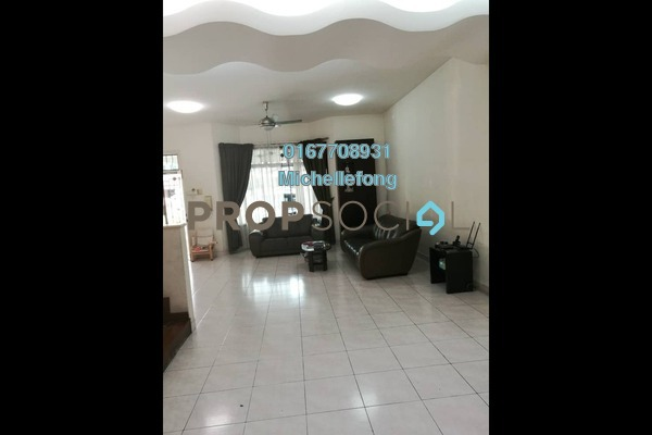 For Sale Terrace at Taman Sutera Utama, Skudai Freehold Semi Furnished 4R/3B 868k