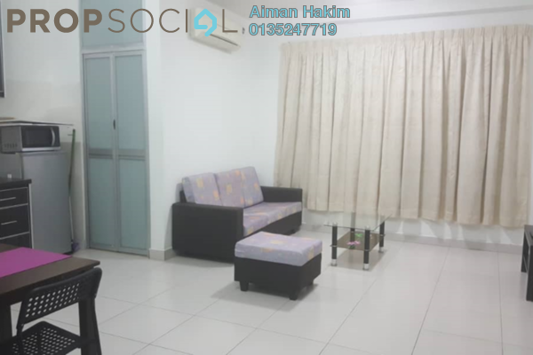 For Rent Condominium at The Domain, Cyberjaya Freehold Fully Furnished 2R/2B 1.3k