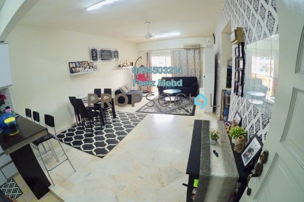 For Sale Condominium at Petaling Indah, Sungai Besi Freehold Semi Furnished 2R/2B 300k