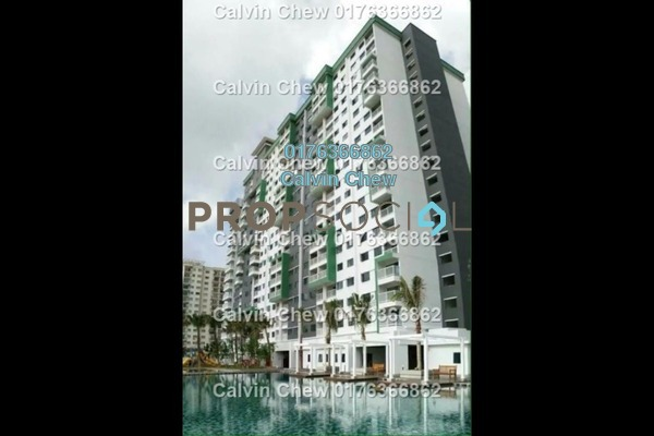 For Sale Serviced Residence at Alam Sanjung, Shah Alam Freehold Unfurnished 0R/0B 310k