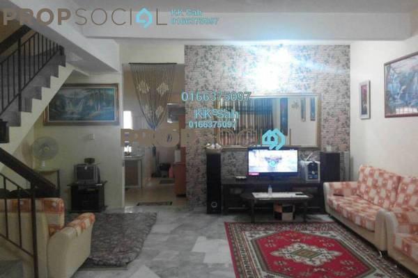 For Sale Link at Section 2, Bandar Mahkota Cheras Freehold Semi Furnished 4R/3B 518k