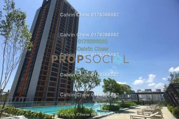 For Sale Serviced Residence at Kanvas, Cyberjaya Freehold Unfurnished 1R/1B 243k