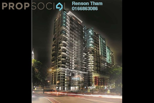 For Sale Condominium at Sunway Geo Residences 2, Bandar Sunway Freehold Semi Furnished 2R/1B 480k