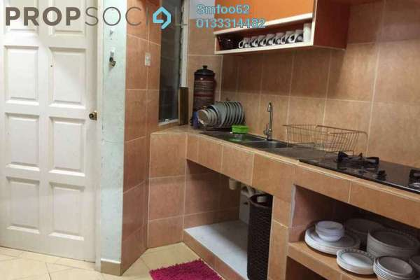 For Sale Condominium at Rampai Court, Setapak Freehold Semi Furnished 2R/1B 240k