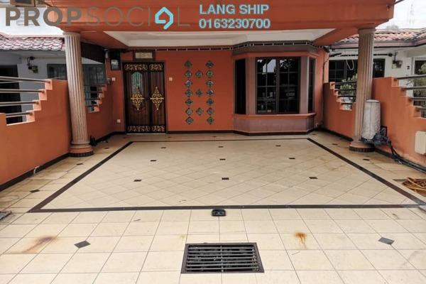 For Sale Terrace at Taman Wawasan, Pusat Bandar Puchong Freehold Semi Furnished 4R/3B 799k