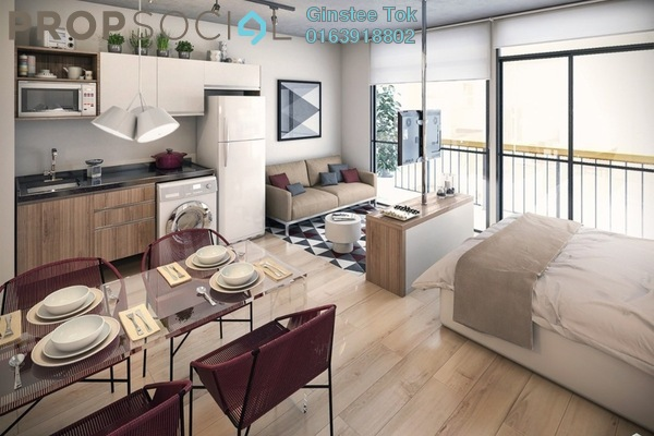 For Rent Condominium at V'Residence, Cyberjaya Freehold Unfurnished 3R/2B 1.5k