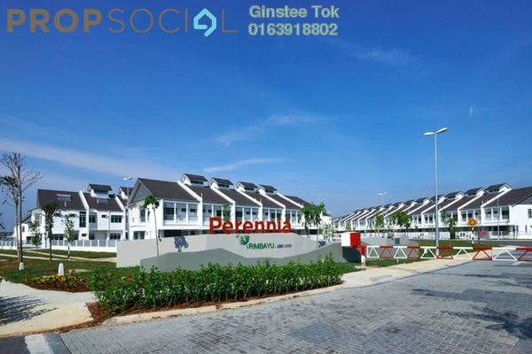 For Sale Terrace at Perennia, Bandar Rimbayu Freehold Fully Furnished 4R/4B 750k
