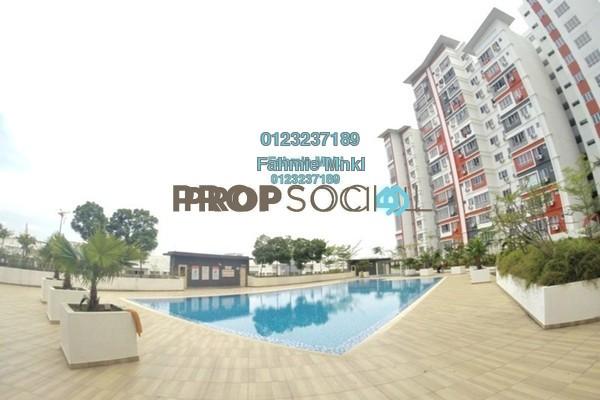 For Sale Condominium at Diamond Residence @ Serdang, Seri Kembangan Freehold Fully Furnished 4R/3B 430k