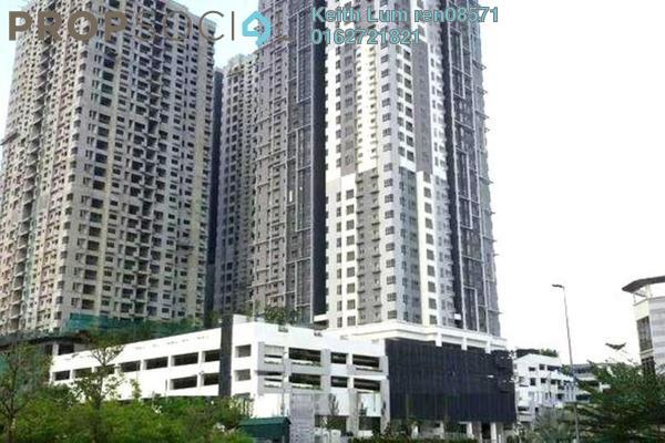 For Rent Condominium at The Wharf, Puchong Freehold Semi Furnished 3R/2B 1.6k