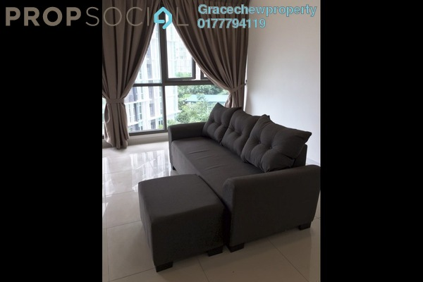 For Rent Condominium at Iskandar Residences, Medini Freehold Fully Furnished 3R/3B 2.8k