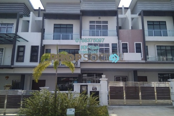 For Sale Superlink at O2 City, Puchong Freehold Unfurnished 5R/5B 1.49m