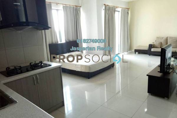 For Rent Condominium at Univ 360 Place, Seri Kembangan Freehold Fully Furnished 1R/1B 1.4k