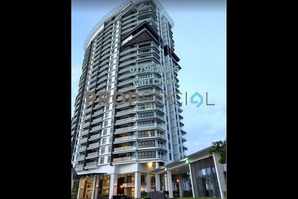 For Rent Condominium at Cristal Residence, Cyberjaya Freehold Fully Furnished 3R/2B 2.8k