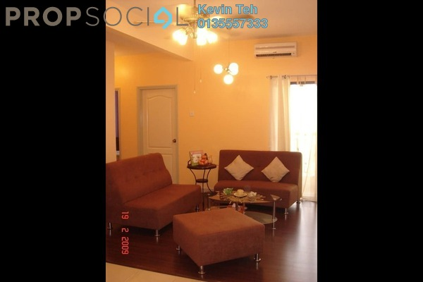 For Sale Condominium at Pelangi Utama, Bandar Utama Freehold Fully Furnished 3R/2B 560k