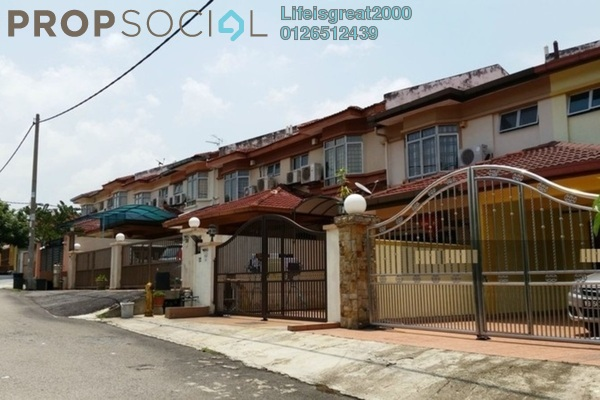 For Sale Terrace at Section 7, Bandar Mahkota Cheras Freehold Semi Furnished 4R/3B 598k