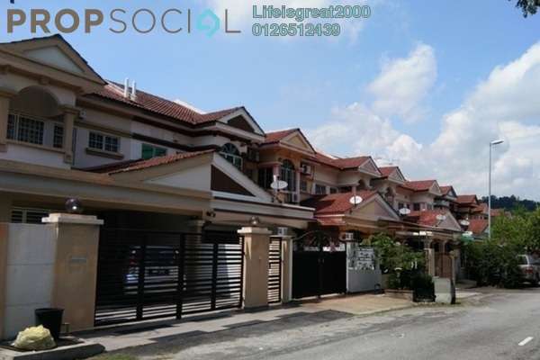 For Sale Terrace at Puteri 7, Bandar Puteri Puchong Freehold Fully Furnished 4R/3B 928k