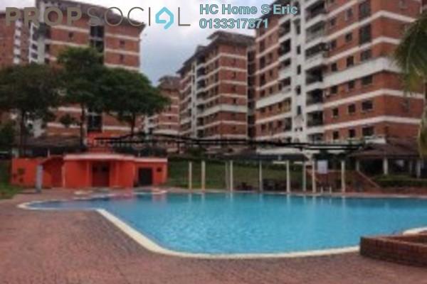 For Rent Condominium at Garden Park, Bandar Sungai Long Freehold Fully Furnished 3R/2B 1k