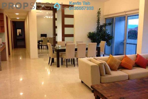 For Rent Condominium at Dua Residency, KLCC Freehold Fully Furnished 4R/3B 8k