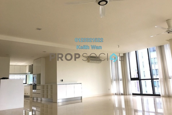 For Sale Condominium at 6 CapSquare, Dang Wangi Freehold Semi Furnished 4R/5B 2.6m