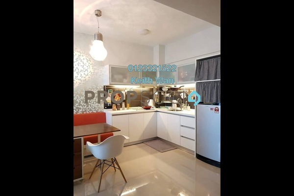 For Rent Condominium at Dex @ Kiara East, Jalan Ipoh Freehold Fully Furnished 1R/1B 1.8k