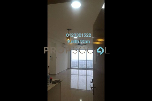 For Rent Condominium at Villa Crystal, Segambut Freehold Semi Furnished 3R/2B 1.9k