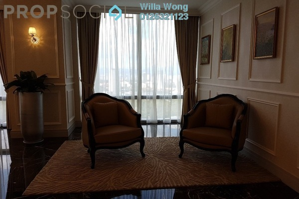 For Rent Condominium at St Regis Residences, KL Sentral Freehold Fully Furnished 3R/4B 38k