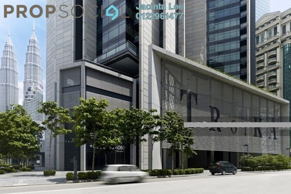 For Sale Condominium at The Troika, KLCC Freehold Semi Furnished 4R/4B 2.25m