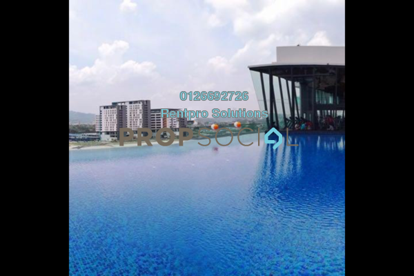 For Rent Condominium at Parkhill Residence, Bukit Jalil Freehold Semi Furnished 3R/2B 2.6k