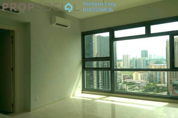 For Sale Serviced Residence at Vogue Suites One @ KL Eco City, Mid Valley City Freehold Semi Furnished 1R/1B 860k