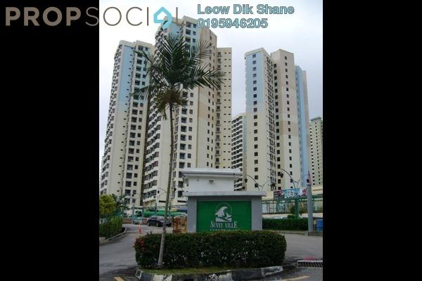 For Sale Condominium at Sunny Ville, Batu Uban Freehold Fully Furnished 3R/2B 500k
