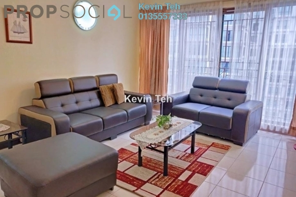 For Rent Condominium at Vista Kiara, Mont Kiara Freehold Fully Furnished 3R/2B 3k