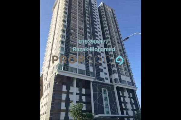 For Sale Condominium at ZetaPark, Setapak Leasehold Unfurnished 3R/2B 570k