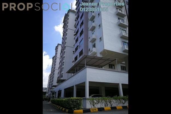 For Sale Apartment at Jalil Damai, Bukit Jalil Freehold Semi Furnished 3R/2B 410k