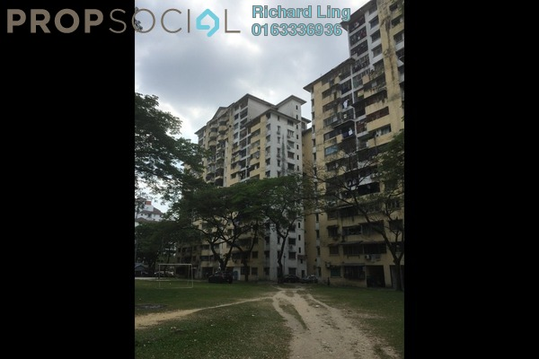 For Sale Apartment at Miharja Apartment, Cheras Leasehold Semi Furnished 3R/2B 310k