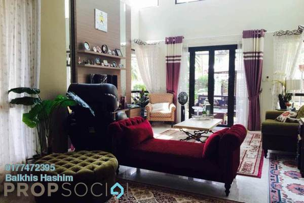 For Rent Bungalow at RiverView, Melawati Freehold Fully Furnished 9R/9B 20k