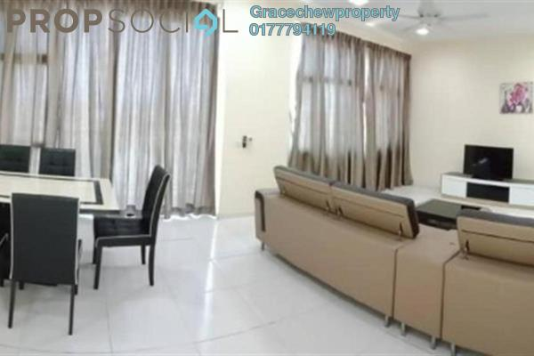 For Rent Serviced Residence at The Sky Executive Suites, Bukit Indah Freehold Fully Furnished 3R/3B 3k